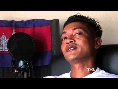 Cambodian American Hip Hop Artist Sings of Personal Struggles
