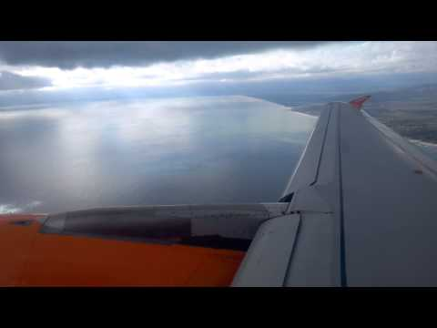 Take off from Catania to Milano Airbus a319 Easyjet