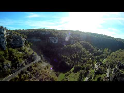 Rocamadour by quadcopter