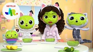 Squishy Squeezy Glow Masks  Gabbys Dollhouse  Netflix Jr