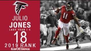 #18 Julio Jones (CB Falcons) | Top 100 Players of 2019 NFL
