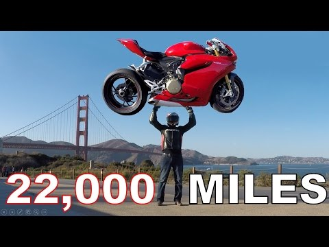 Ducati Panigale 22,000 Mile Review and Repair Costs