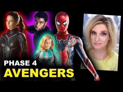 MCU Phase 4 Avengers Lineup