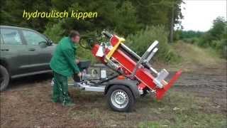 Lancman Staw 17 - Logsplitter-remorque Fendeuse For  Atv, Utv, Suv, Car