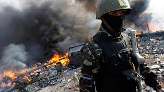 На Донбассе русских нет? Ну, нет так нет. Украинские бойцы уничтожили опорник русских террористов