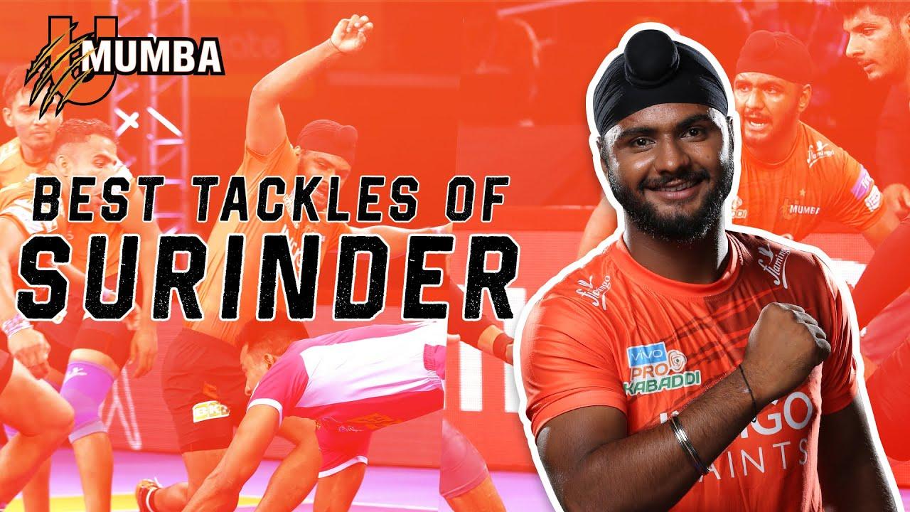 Surinder Singh | Best Tackles | Season 7