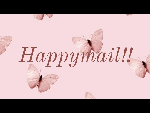 Unboxing Early Bday Happymail| From Vintology By Lola| 💝💝💝