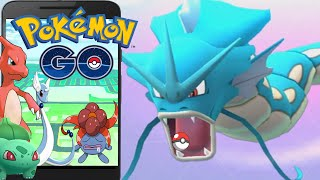 Pokemon Go: Massive Pokemons Evolves | Max GYARADOS -  Pokemon Go Gameplay