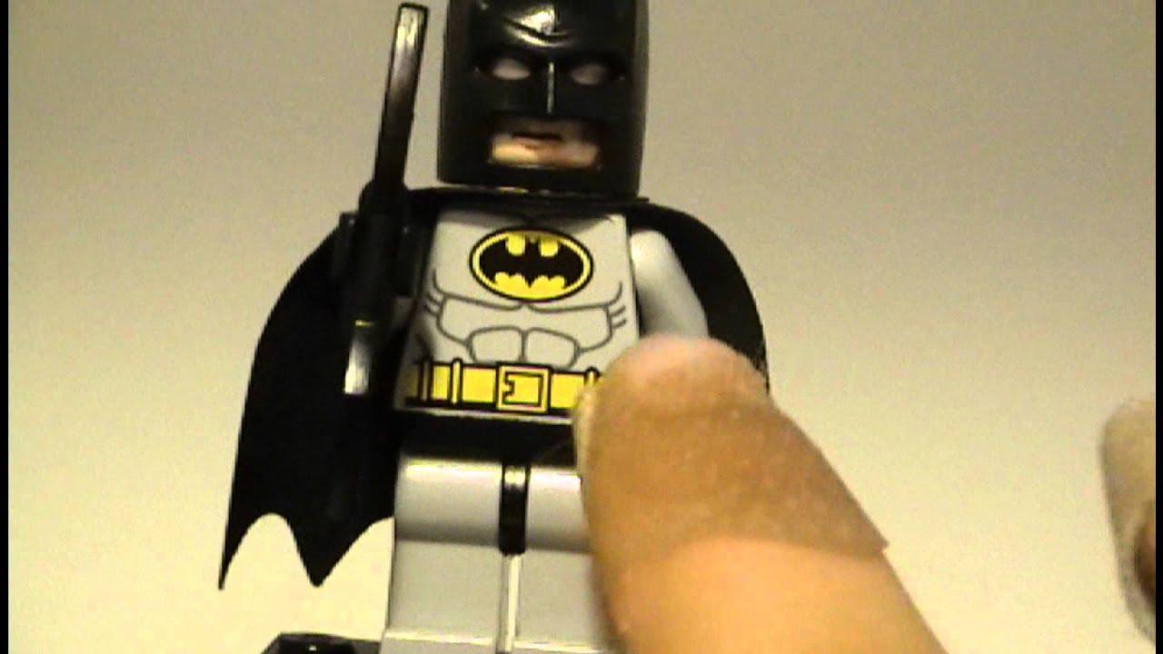 LEGO Batman: Custom Black and Gray Batman - YouTube