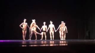 """Питерский шоу балет """"Искушение"""". Шоу под дождем..."""