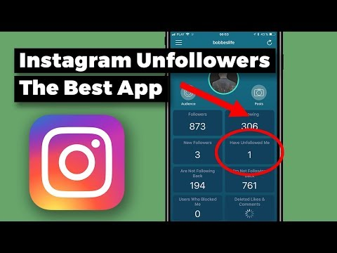 Unfollowers Instagram 2018 Apps: The Best One (iOS)