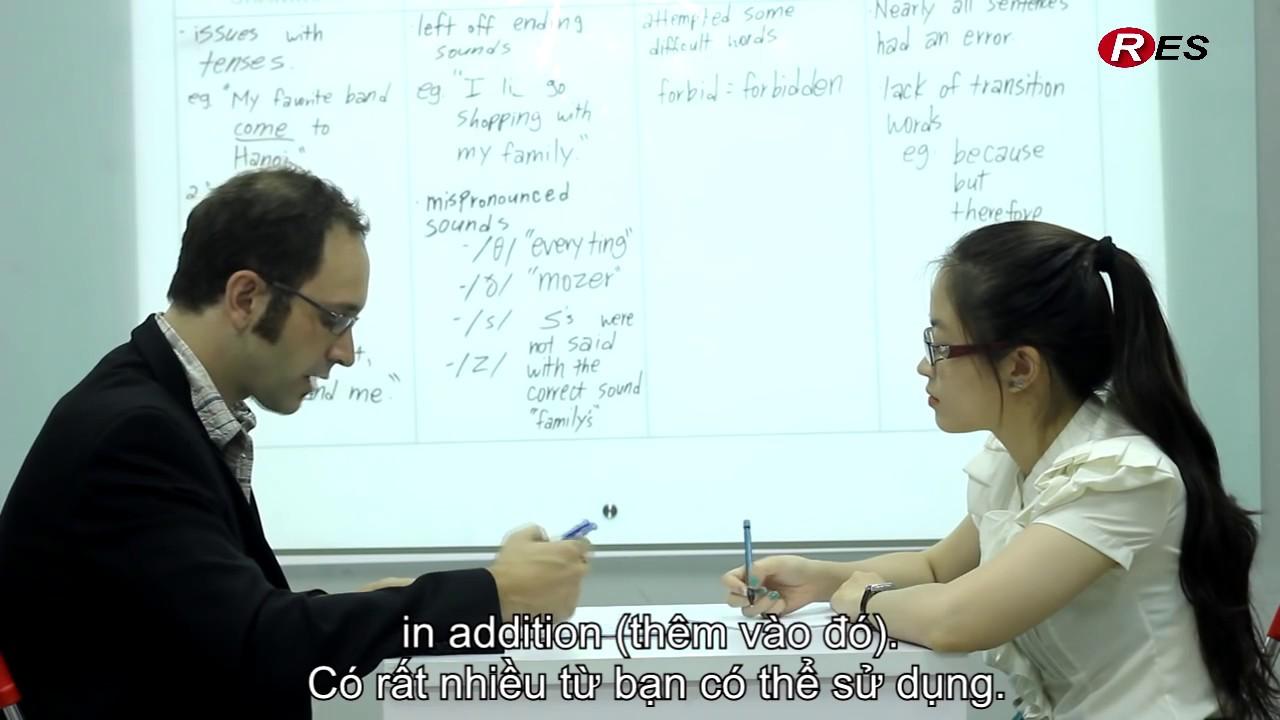 Phỏng vấn Speaking miễn phí tại RES- Trung tâm luyện thi IELTS số 1 Việt Nam