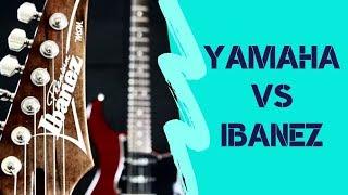 Yamaha Pacifica 612vii 🆚 Ibanez Premium