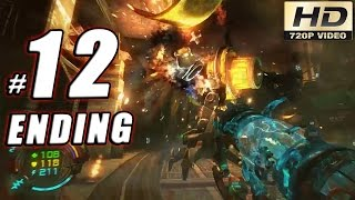 Hard Reset Redux Gameplay Walkthrough: Part 12 (Ending) - Arena Final Showdown! - 60fps PC - GPV247