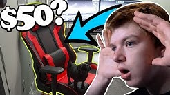 I bought the cheapest gaming chair on amazon.