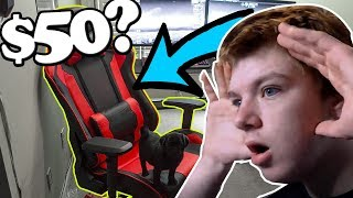 I bought the cheapest gaming chair on amazon... thumbnail
