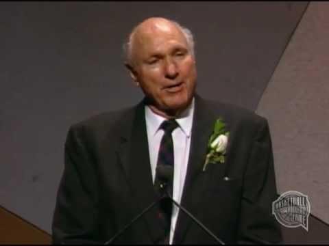 "Alexander M. ""Alex"" Hannum's Basketball Hall of Fame Enshrinement Speech"