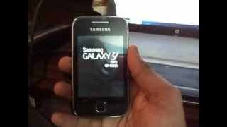 Repair a bricked Galaxy Y (S5360) || Install original samsung android on Galaxy Y (S5360)