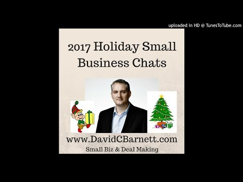 Holiday chat 2017 001- Paul and I discuss selling a manufacturing business in decline