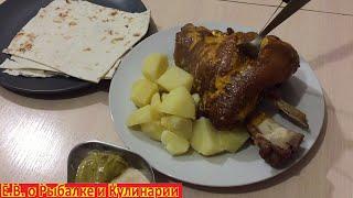 Вкуснейшая свиная рулька у себя дома без ПОНТОВ ОЧЕНЬ ЛЕГКО Свиная рулька БОМБИЧЕСКИЙ рецепт
