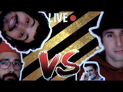 Barbaroffa-Youtube Fa Cagare VS Dorianbe: litigio (live Pio3D)