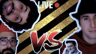 Barbaroffa-Youtube Fa Cagare VS Dorianbe: litigio (live Pio3D)