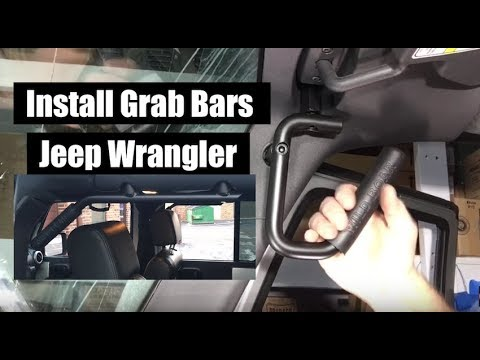 Jeep Wrangler Grab Bars – How to Install – GraBars