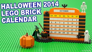 Custom Build - Halloween Brick Calendar [CC] Thumbnail
