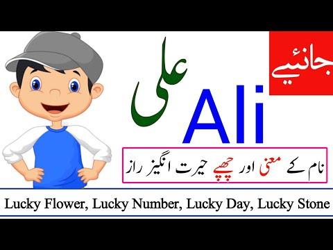 Ali Name Meaning in urdu   Ali Naam ka Matlab kya hota hai   Names Center