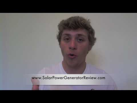Goal Zero Yeti Solar Power Generator Review