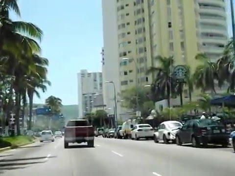 RECORIDO POR LA COSTERA MIGUEL ALEMAN, ACAPULCO