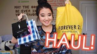 HAUL: B&BW, Sephora, & Forever 21! Thumbnail