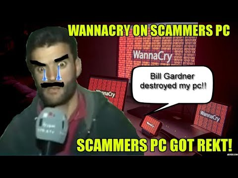 Destroying Scammers Computer With Ransomware!