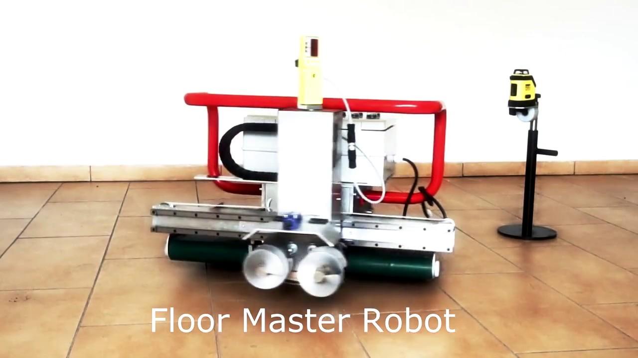 Floor screed robot Clapa Floor Master