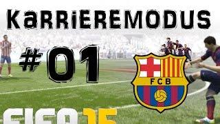 Fifa 15 karrieremodus #01 ★ fc barcelona