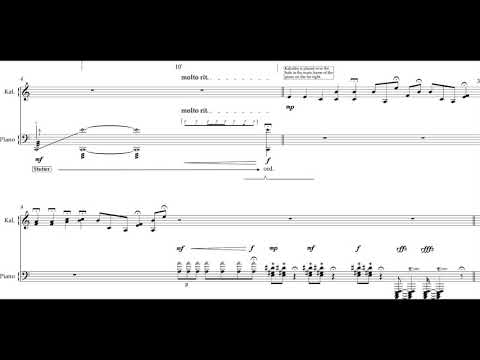 Hector Docx - The Toys They Carried for Piano and Kalimba (2017) [Score-Video]
