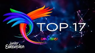 JESC 2016 | Junior Eurovision Song Contest | My Top 17