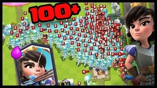 100+ PRINCEZIEN! - Clash Royale #19 | SK Let's play | facecam | HD 60FPS