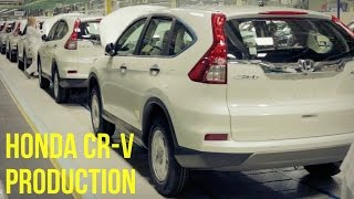 Honda CR-V Production