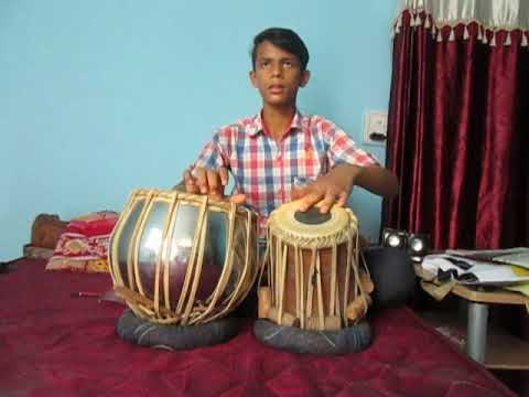 sajjan raazi punjabi song cover on tabla