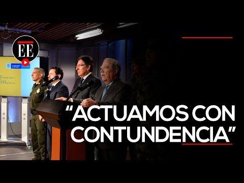 El emotivo mensaje del director de la Policía por atentado del Eln en Bogotá   EL ESPECTADOR