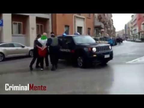 Sparatoria Macerata - L'arresto di Luca Traini