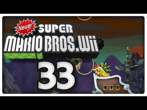 Let's Play NEWER SUPER MARIO BROS. Wii Part 33: Epischer Airship-Endkampf + Credits