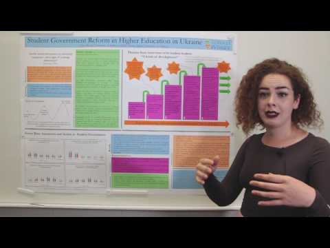 """Eliza Bicego  """"Student Government Reform in Higher Education in Ukraine"""""""