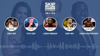 UNDISPUTED Audio Podcast (6.04.18) with Skip Bayless, Shannon Sharpe, Joy Taylor | UNDISPUTED