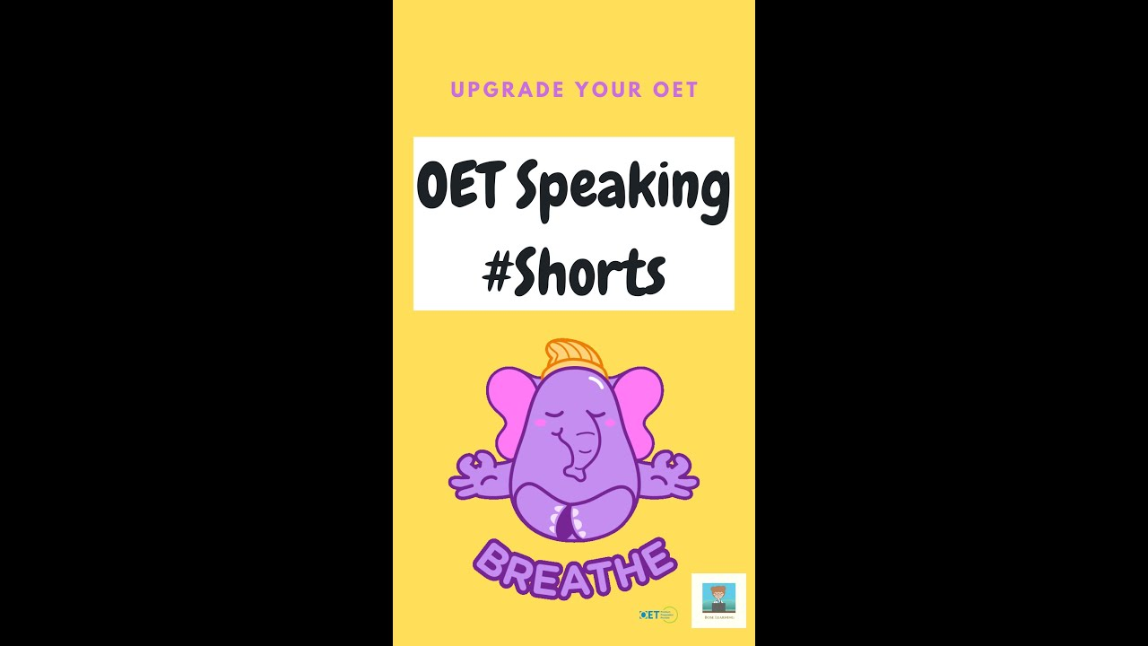 OET Vocabulary: Breathe vs Breath