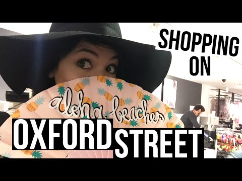 SHOPPING ON OXFORD STREET | LONDON VLOGS