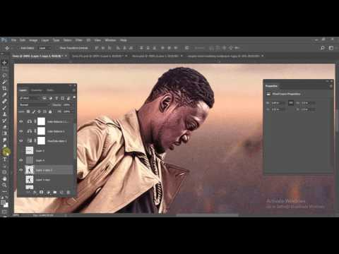 How To Make A Mixtape Cover Art Design In Adobe Photoshop - Tutorial