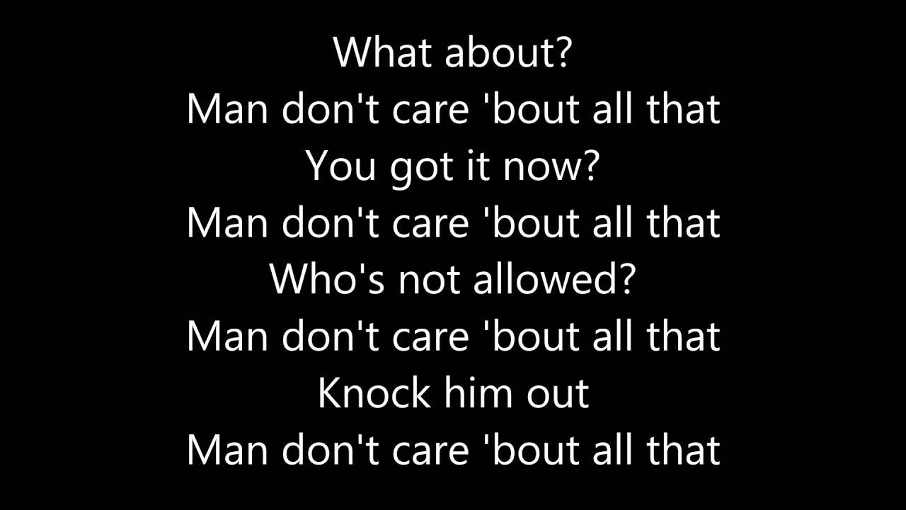 JME - Man Don't Care f...