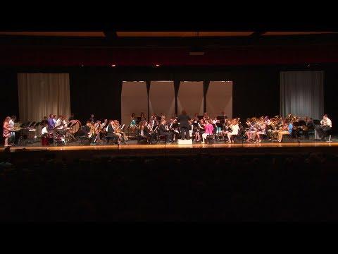 North Pocono Middle School Band Spring Concert 2018